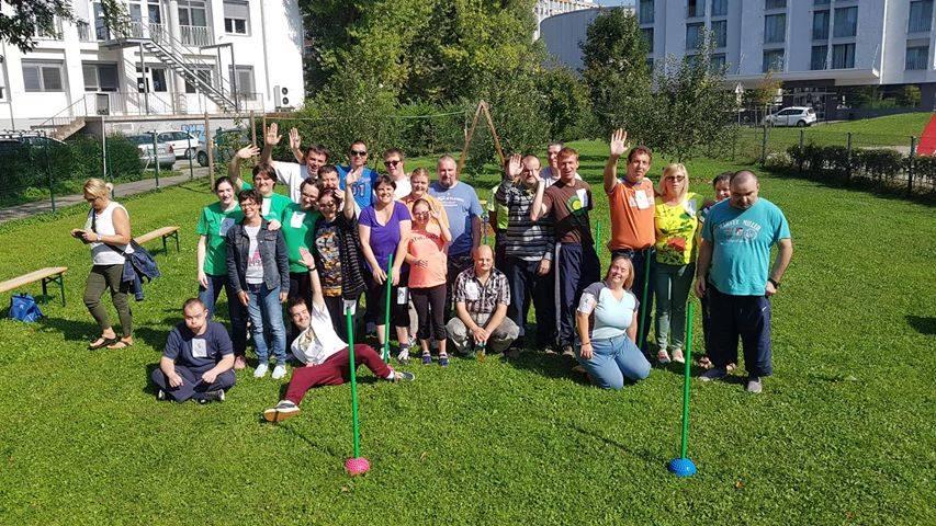 Športne igre VDC na domačem vrtu